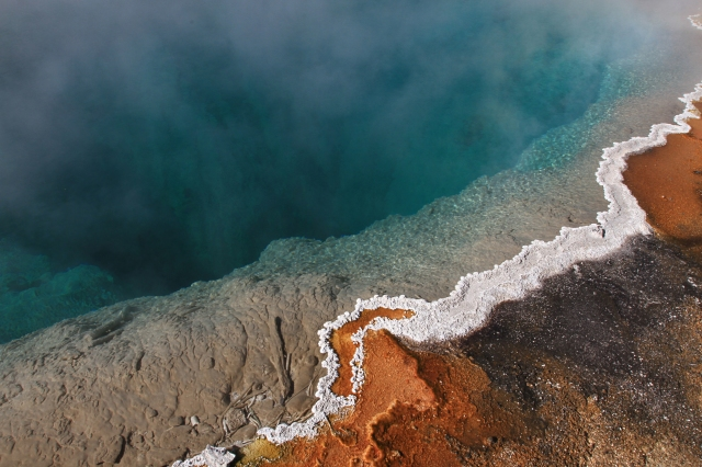Black Pool (West Thumb Geyser Basin). Photo Credit: NPS