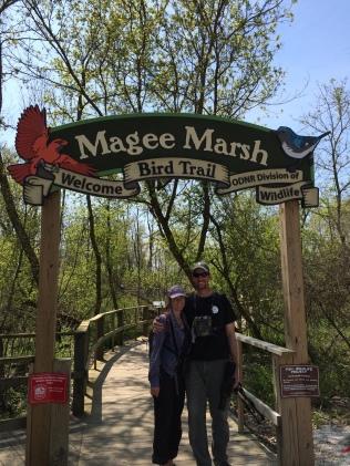 John and I at Magee Marsh