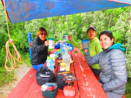 003 St marys campsite Daine, Vicki, Lisa