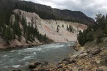 Yellowstone River at Seven Mile Hole.