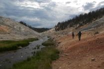 Broad River near the Fairylands. Yellowstone.